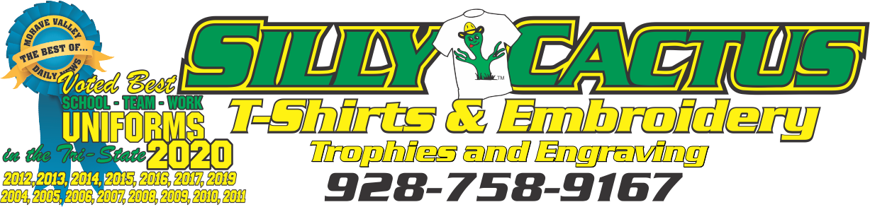 Silly Cactus T-Shirts - Web Header - Best of 2020