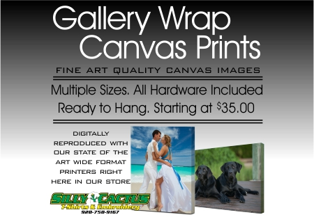 Full COlor Gallery Wrap Art Prints